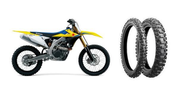 Suzuki выбрала шины Bridgestone Battlecross для своего флагманского мотоцикла