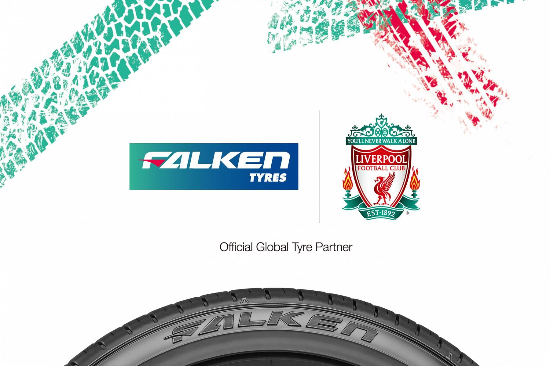 Falken Tire -  глобальный спонсор ФК «Ливерпуль»