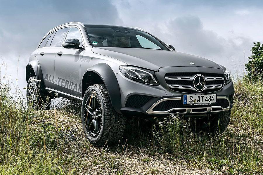 Mercedes построил экстремальный внедорожный универсал