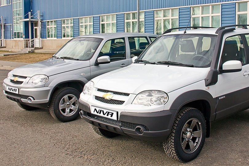 Внедорожники Chevrolet Niva попали под отзыв