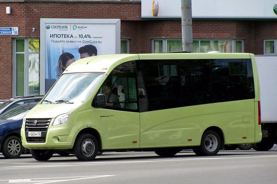 ГАЗ готовит «маршрутку» повышенной вместимости