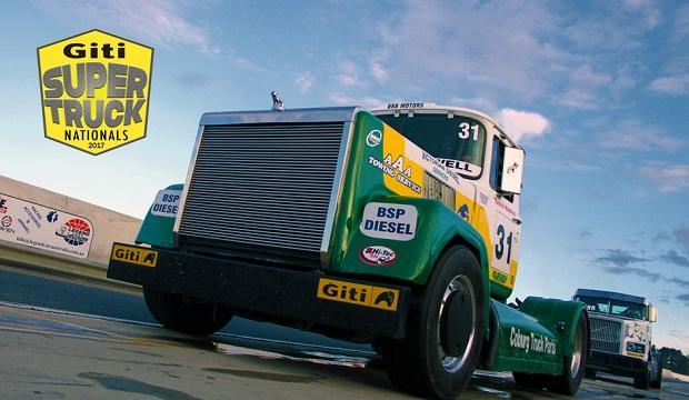 Giti Tire разработала гоночные шины для грузовиков серии Super Truck Nationals 2017