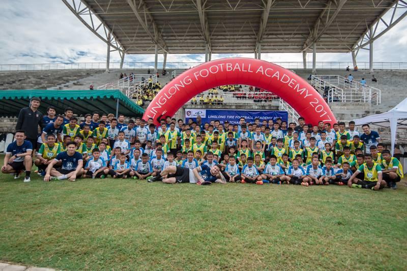 Linglong Tire открыла футбольный лагерь в Таиланде