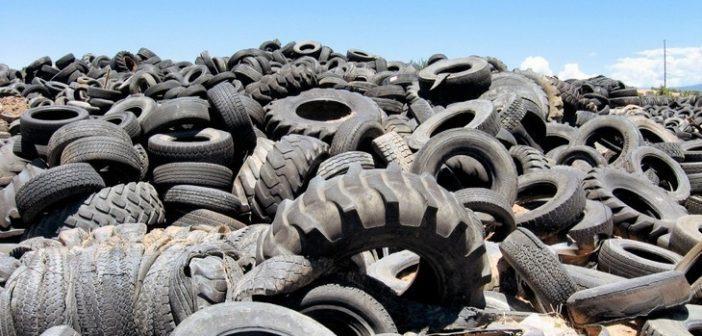 Правительство запретило захоронение старых автопокрышек с 1 января 2019 года
