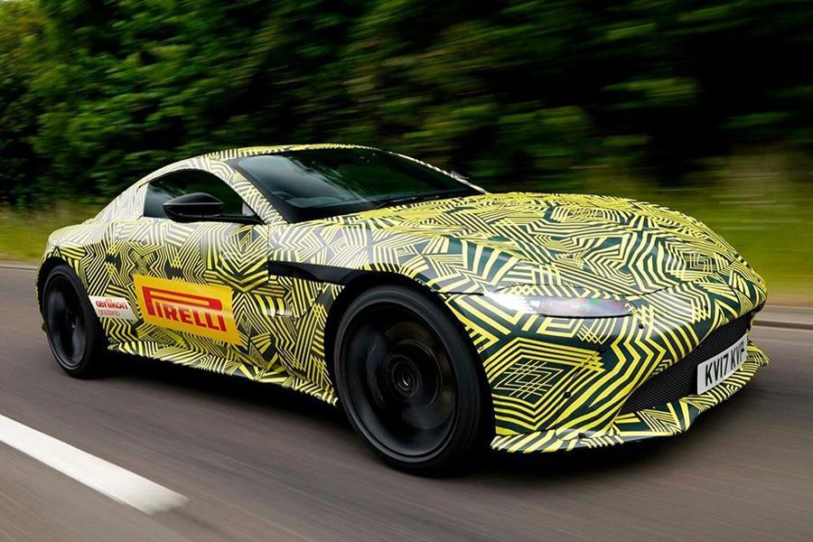 Aston Martin показал новинку. Пока в камуфляже