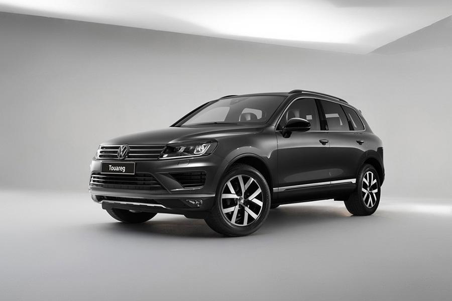 Volkswagen Touareg представлен в спецверсии для России