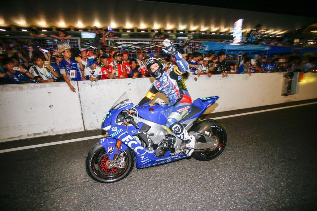 12-я победа Bridgestone в гонке «8 часов Сузуки»