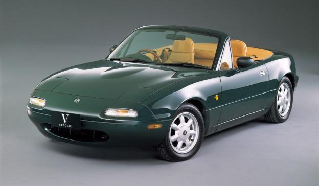 Bridgestone возродит модель SF325 для комплектации легендарной Mazda NA Roadster