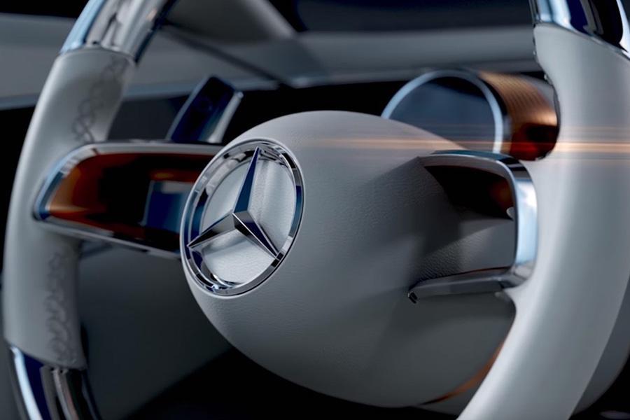 Mercedes показал видеотизер о новом концепте
