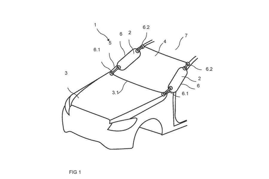 Mercedes придумал подушку безопасности для пешеходов
