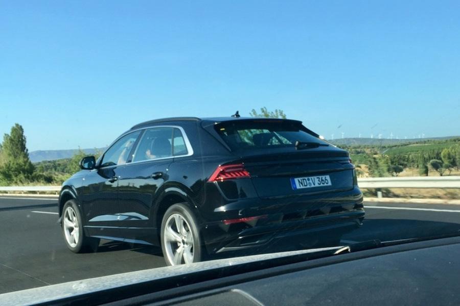 Фотошпионы подловили Audi Q8
