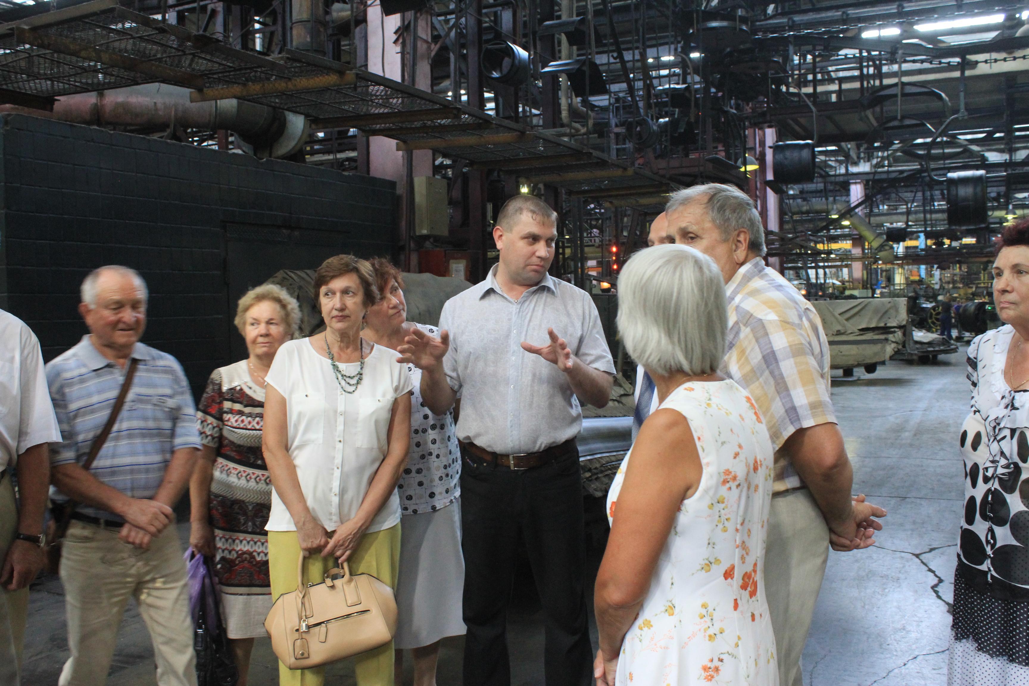АО «Волтайр-Пром» чествует ветеранов