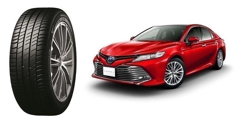 Мишлен будет поставлять шины Primacy 3 для оснащения новых Toyota Camry