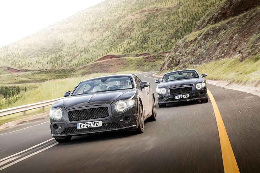 Bentley поделился подробностями о новом поколении Continental