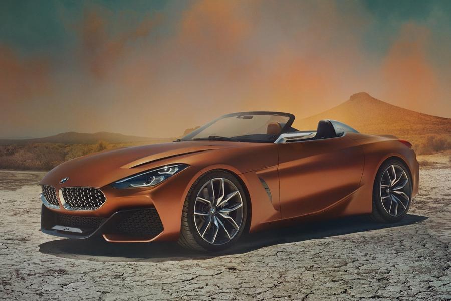 Рассекречен прототип нового родстера BMW Z4