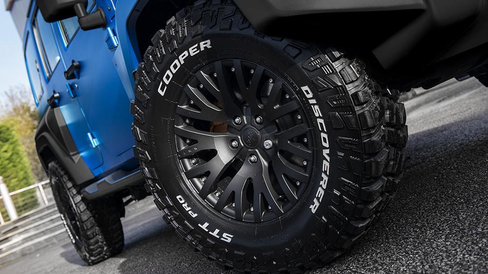 Cooper Tire стала официальной шиной ателье Kahn Design