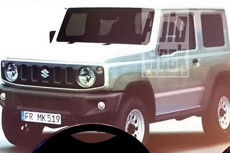 Новый Suzuki Jimny рассекретили в интернете