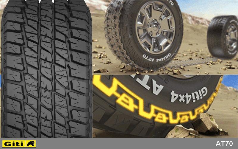 Giti Tire представила особо прочные шины Giti4x4 AT70