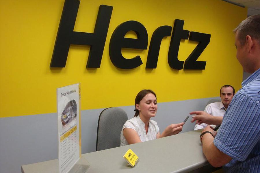 Прокатная компания Hertz уходит из России