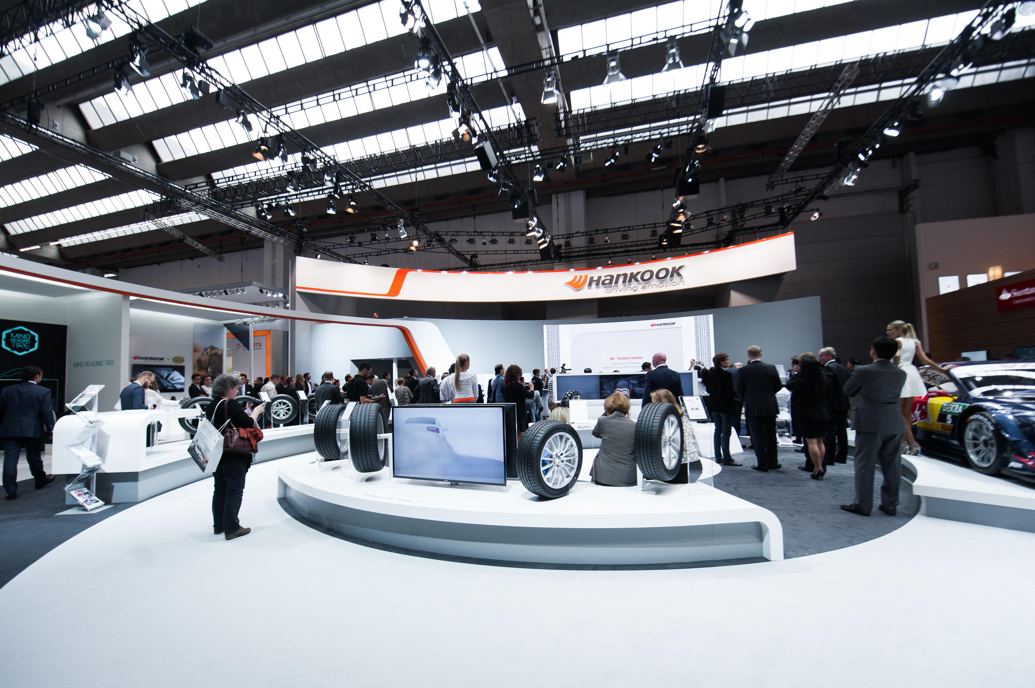 Hankook привезет во Франкфурт новинки ассортимента и шины будущего