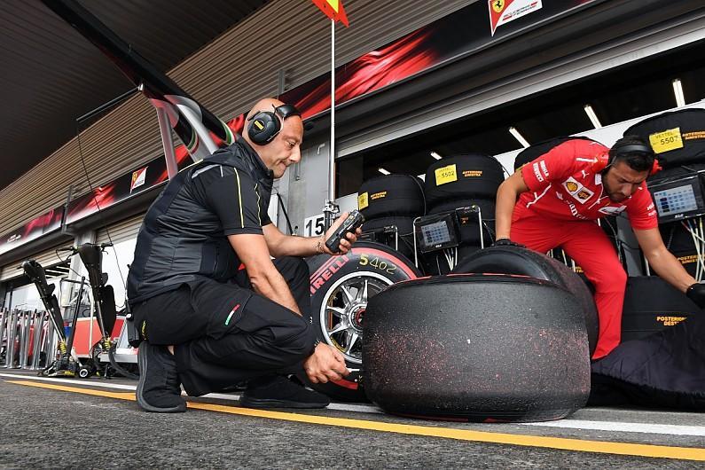 Тверкинг шин Pirelli на трассе Спа