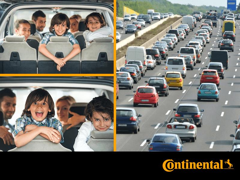 Continental напоминает о мерах безопасности на дорогах
