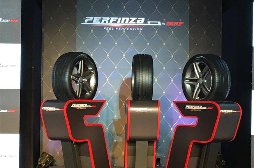 MRF презентовала новую линейку премиум-шин Perfinza