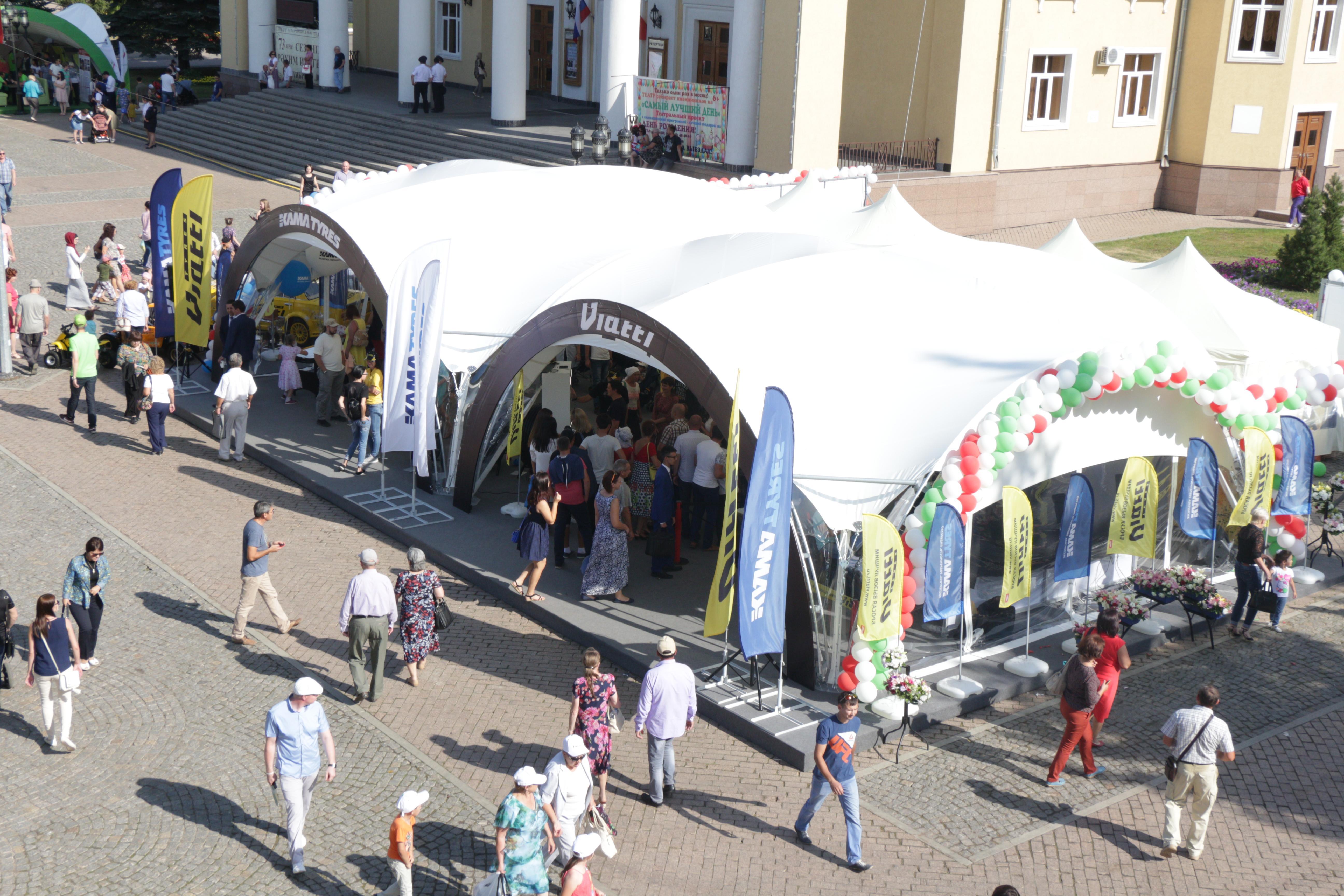 «Татнефть» представила продукцию брендов Viatti и KAMA на Дне нефтяника в Альметьевске