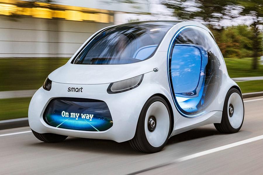 Smart превратили в беспилотную капсулу будущего