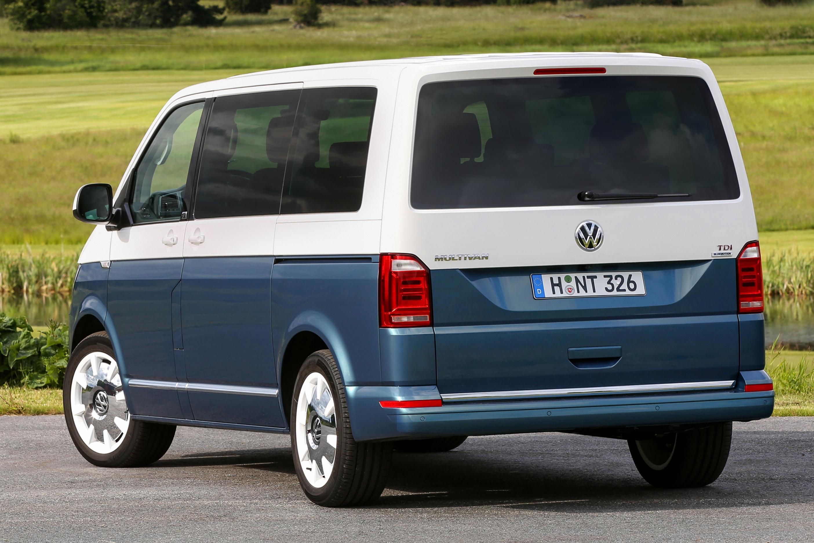 В России отзывают Volkswagen Multivan