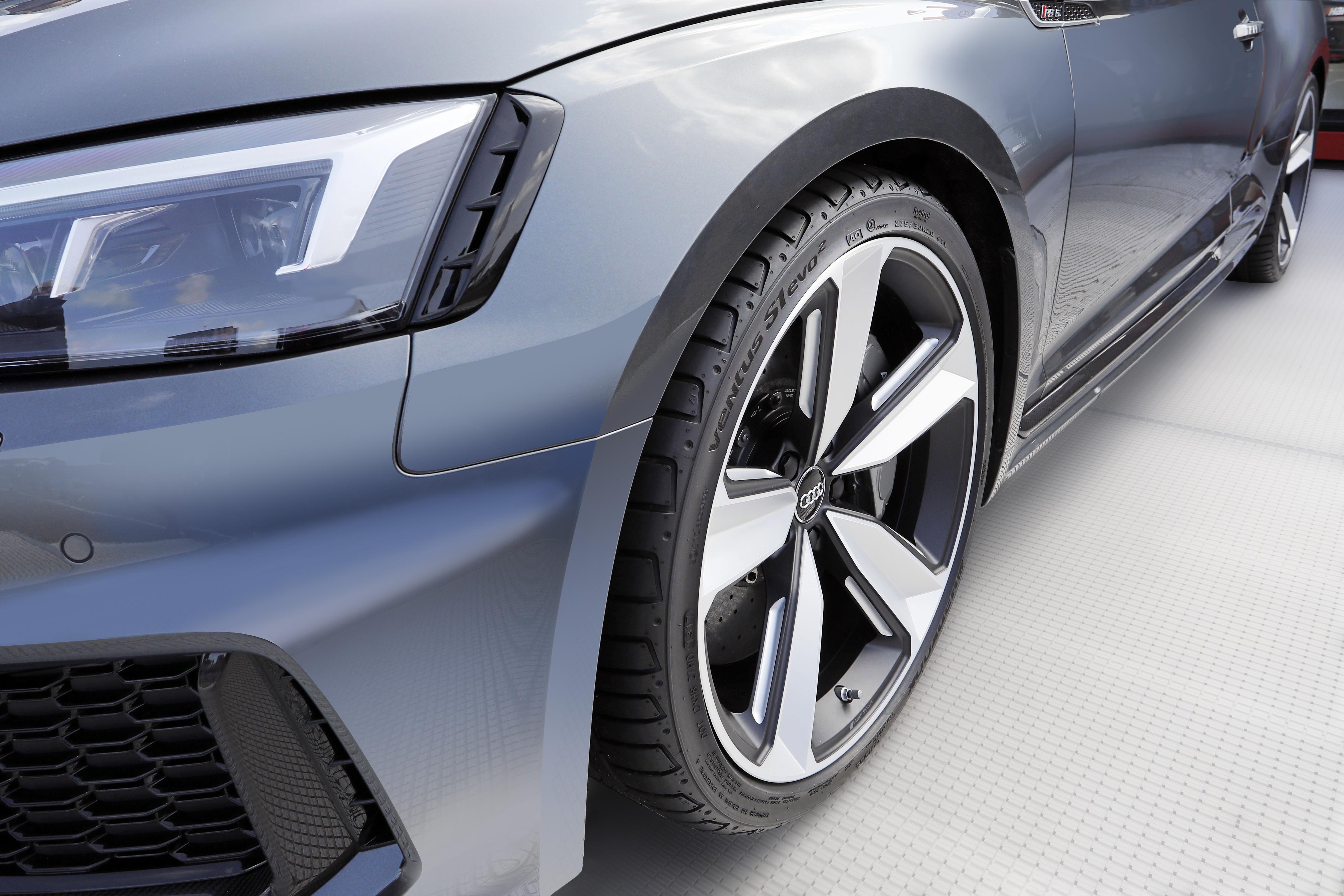 Для нового RS5 Coupé компания Audi выбрала бесшумные UHP-шины Hankook Ventus S1 evo²