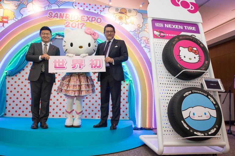 Nexen и Sanrio представили шины для поклонников Hello Kitty и Cinnamoroll