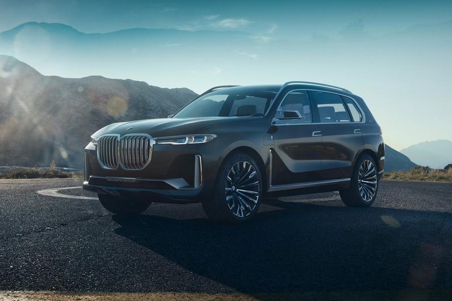BMW показал прототип будущего кроссовера X7