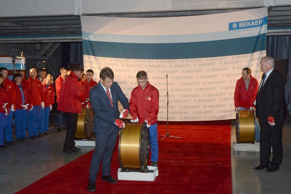 Bekaert вложит 1 миллиард рублей в расширение производства металлокорда в Липецке