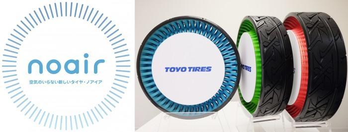 Toyo noair - новое слово в технологии безвоздушных шин