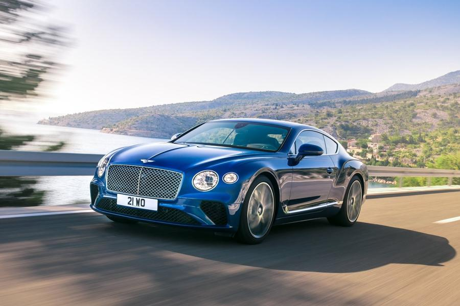 Автосалон во Франкфурте 2017: Bentley Continental GT