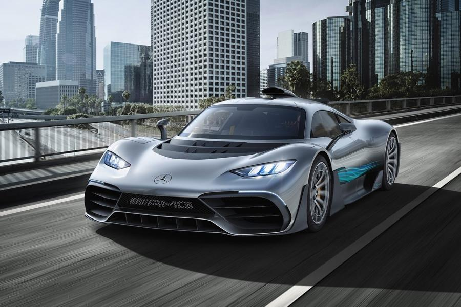 Автосалон во Франкфурте 2017: Mercedes-AMG Project One