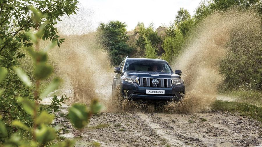 Автосалон во Франкфурте 2017: Toyota Land Cruiser Prado