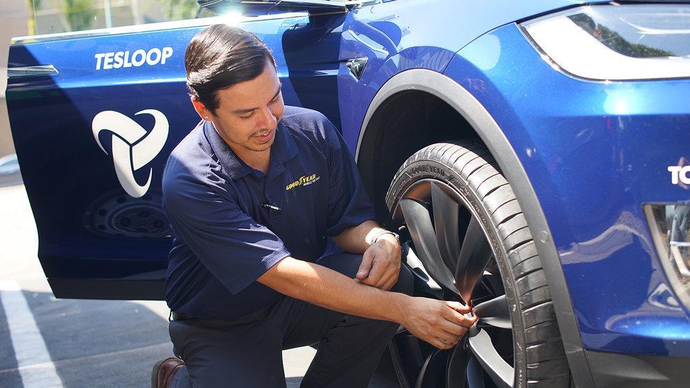 Goodyear будет собирать и анализировать данные о состоянии «умных» шин