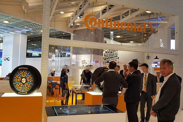 ContiSense и ContiAdapt - инновационные технологии от Continental для транспорта будущего