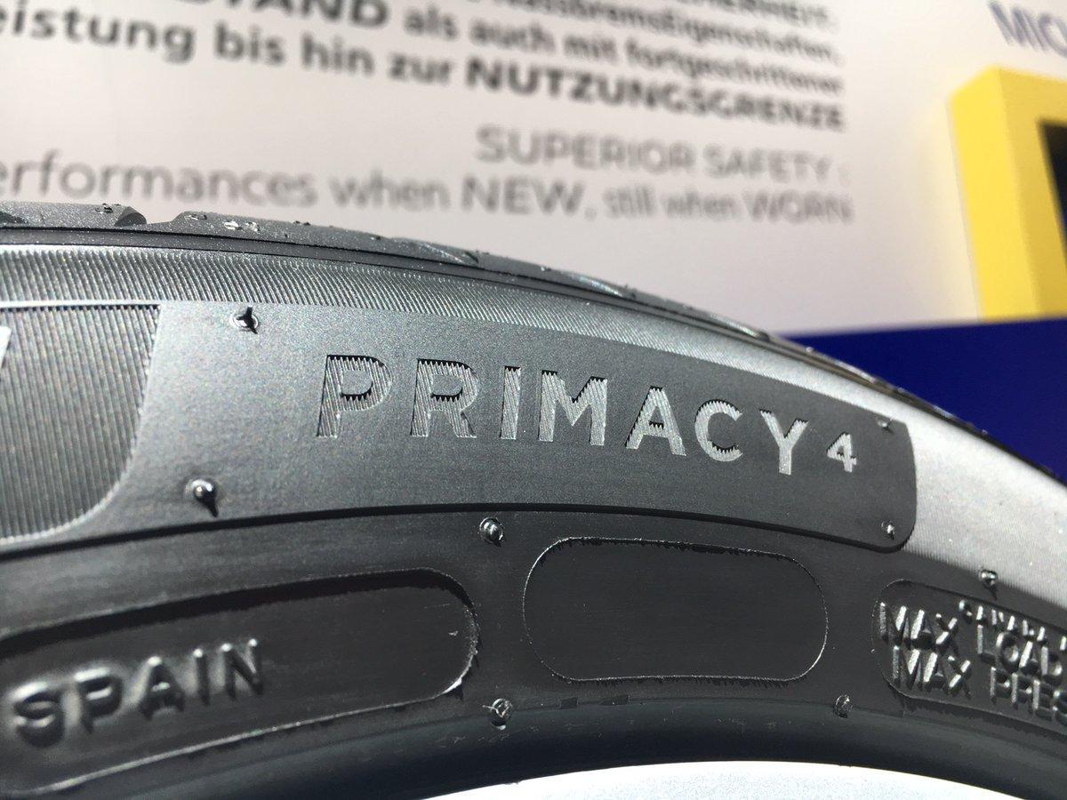 Мишлен представил на IAA 2017 суперновинку Michelin Primacy 4