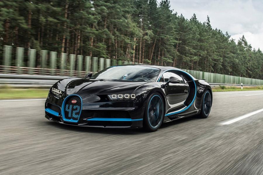 Bugatti Chiron установил свой первый рекорд