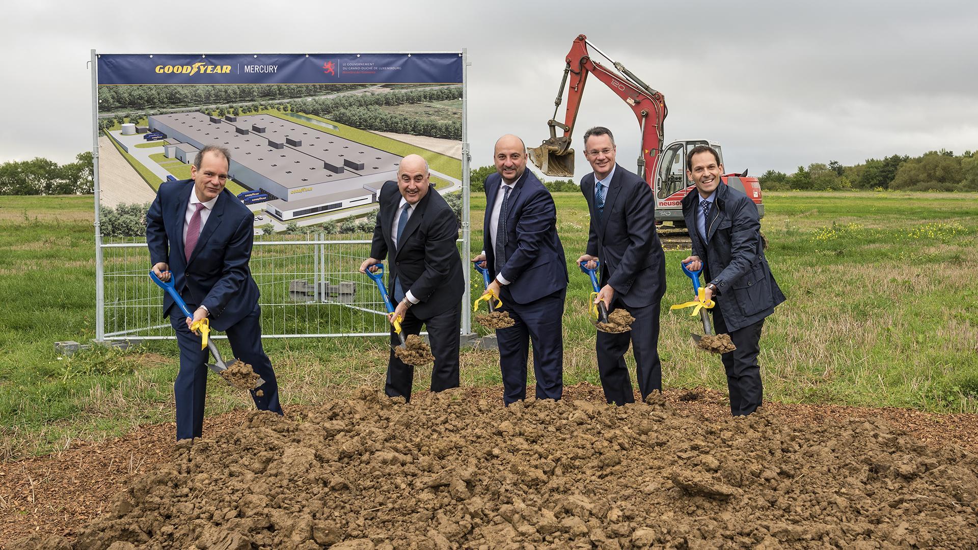 Goodyear начала строительство нового завода в Люксембурге
