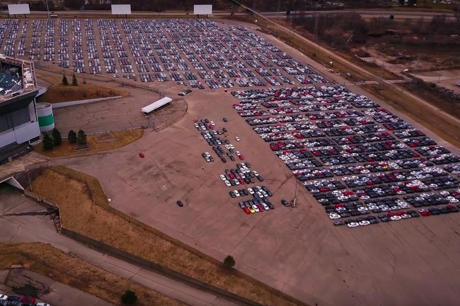В США украли машины, выкупленные производителем в рамках дизельгейта