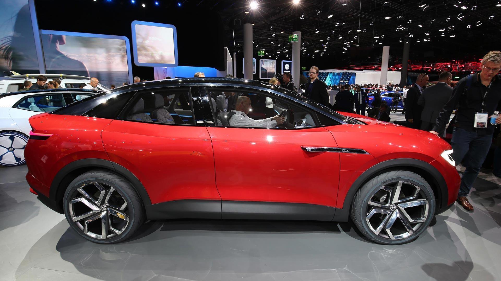 Футуристический кроссовер Volkswagen I.D. Crozz II поедет концепт-шинах Hankook