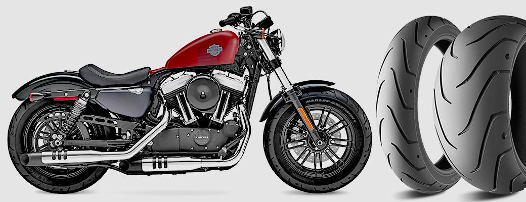Обновленное семейство Harley-Davidson Softail получит оригинальную мишленовскую резину