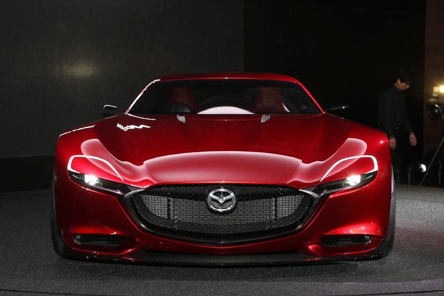 Mazda покажет на моторшоу в Токио роторный концепт