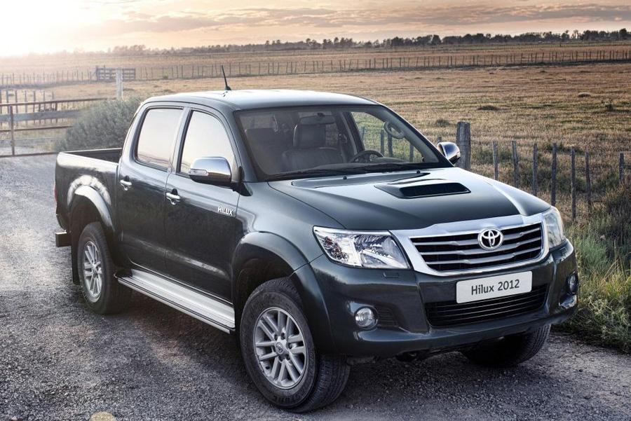 В России отзывают пикапы Toyota Hilux