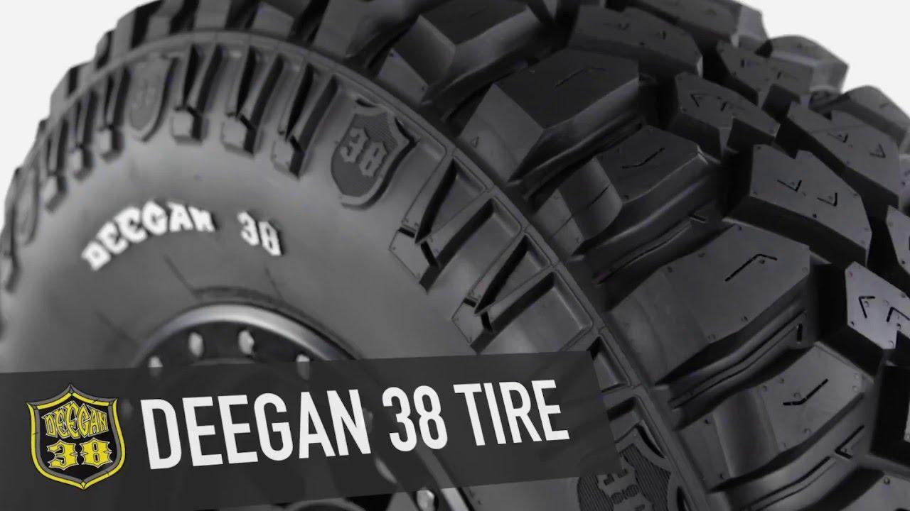 Mickey Thompson продолжает расширение размерного диапазона грязевых шин Deegan 38