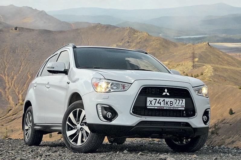 Почти 90 тысяч Mitsubishi ASX отзывают в России
